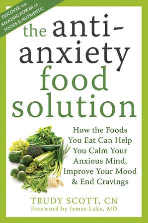 cover image for The Antianxiety Food Solution