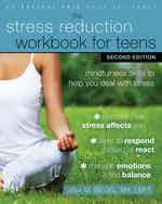 The Stress Reduction Workbook for Teens, Second Edition cover