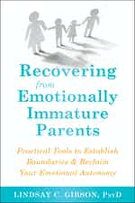 Recovering from Emotionally Immature Parents paperback cover image