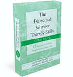 The Dialectical Behavior Therapy Skills Card Deck cover