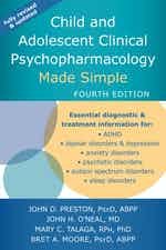 Child and Adolescent Clinical Psychopharmacology Made Simple cover