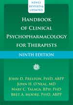 Handbook of Clinical Psychopharmacology for Therapists cover